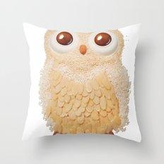 Owl Collage #5 Throw Pillow