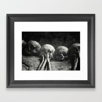 Once Were Warriors IV. Framed Art Print