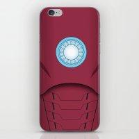 Ironman Vector iPhone & iPod Skin