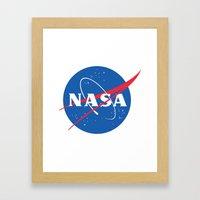 nasa Framed Art Print
