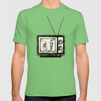Bunny Ears Disturbance Mens Fitted Tee Grass SMALL
