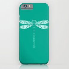dragonfly in emerald iPhone 6s Slim Case
