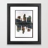 Landscapes c3 (35mm Double Exposure) Framed Art Print