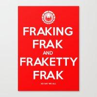 FRAK Canvas Print
