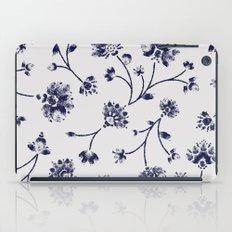 Indigo Floral Trail (reversed) iPad Case