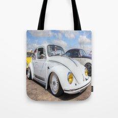 White Beetle Tote Bag