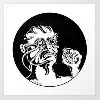 Mr. K - War Art Print