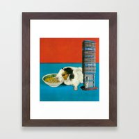 Tower Of Cavia Framed Art Print
