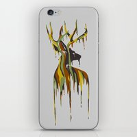 Painted Stag iPhone & iPod Skin