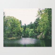 maudslay pond Canvas Print