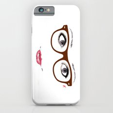 Hipster Eyes 1 Slim Case iPhone 6s