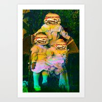Mac Attack Art Print