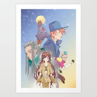 Legend Of The Ztarr Vol.… Art Print