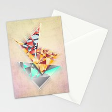 Triangle Rush! Stationery Cards