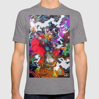 Thor Mens Fitted Tee Tri-Grey SMALL