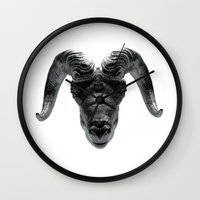 Big Horn Wall Clock