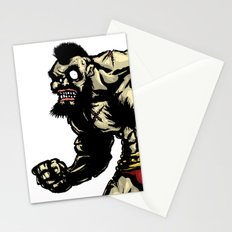 Bear Wrestler - Street Fighter Stationery Cards