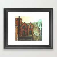 No home Framed Art Print