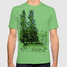These Are Trees Mens Fitted Tee Grass SMALL