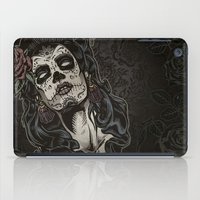 Day of The Dead Woman iPad Case