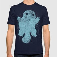 Squirtle Mens Fitted Tee Navy SMALL