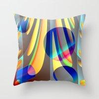 sundrops Throw Pillow