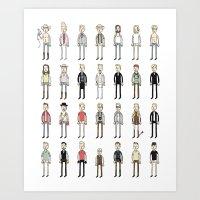 Brads Art Print