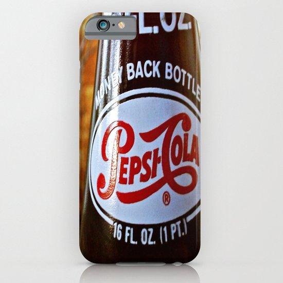 Pepsi nostalgia iPhone & iPod Case