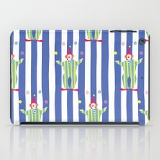 Clown (blue) iPad Case