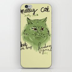 Smelly cat iPhone & iPod Skin