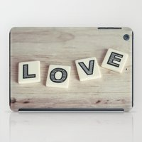 Letter Love iPad Case