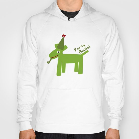 Party Animal-Green Hoody