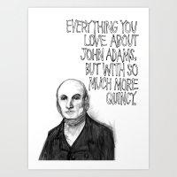 John Quincy Adams : Choc… Art Print