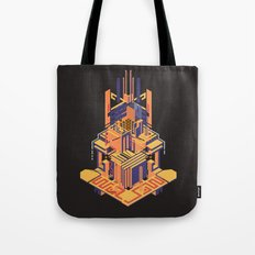 A Song of Lemons, Plums and Cherries Tote Bag