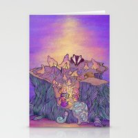 In the mushroom cove Stationery Cards