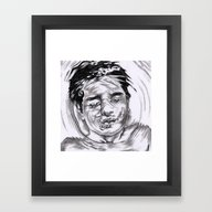 Framed Art Print featuring Free My Mind by ArtLm