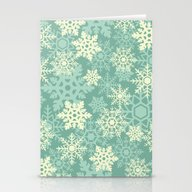 Snowflakes #1 Stationery Cards