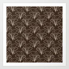 Abstract Decorative Patt… Art Print