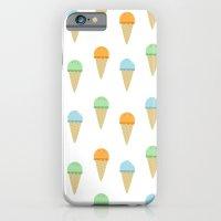 Ice Cream Pattern iPhone 6 Slim Case