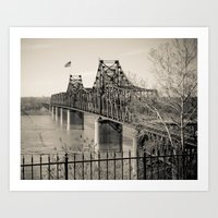 Welcome to Vicksburg 3 Art Print