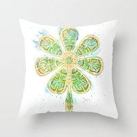 The Motherlucker - Golde… Throw Pillow