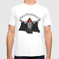 Gene Persimmons Mens Fitted Tee White SMALL