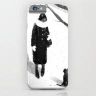Black And White iPhone 6 Slim Case
