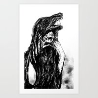 The Beast Within Art Print