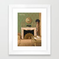 STORY OF O Framed Art Print
