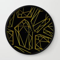 golden emptiness. Wall Clock