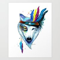 -Wild Soul- Art Print