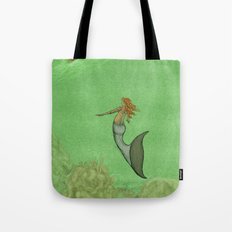 The Golden Mermaid Tote Bag