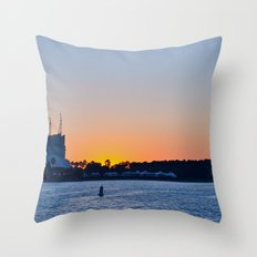 Downtown Disney Sunset II Throw Pillow