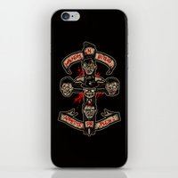Appetite For Flesh iPhone & iPod Skin